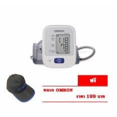 ราคา Omron เครื่องวัดความดัน รุ่น Hem 7121 แถมฟรี หมวก Omron เป็นต้นฉบับ