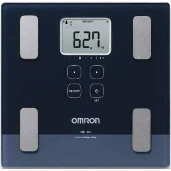 Omron เครื่องชั่งน้ำหนักวิเคราะห์ไขมัน รุ่น HBF-224 (ของแท้ รับประกันศูนย์omron ไทย 2ปี) แสดงค่า BMI, Body Age