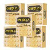 ขาย Onetouch แมกซ์ ดอท ถุงยางอนามัย ขนาด 52 มม 5 กล่อง Onetouch ถูก