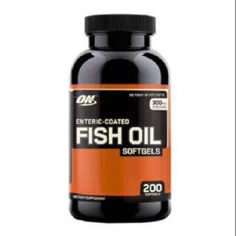 OPTIMUM Nutrition Enteric Fish Oil 200 softgels