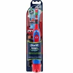 ซื้อ แปรงสีฟันแบตเตอรี่ Oral B รุ่น Advance Power Kids ลาย Cars ออนไลน์ ถูก