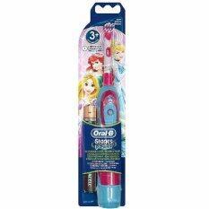 โปรโมชั่น Oral B Kids Stages Power Electric Toothbrush Princess Design แปรงสีฟันไฟฟ้า ลายการ์ตูนเจ้าหญิงดิสนี่ย์ ใน ไทย