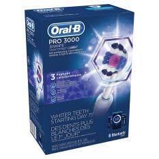 ซื้อ แปรงสีฟันไฟฟ้า Oral B Pro 3000 3D White Rechargeable Toothbrush W Bluetooth Smart Series Braun ออนไลน์ กรุงเทพมหานคร