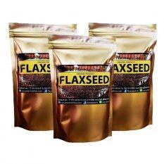 ซื้อ เมล็ดแฟลกซ์ อบ บดผง Organic Brown Flaxseed Meal ขนาด 200 กรัม 3 Packs สีน้ำตาล กรุงเทพมหานคร
