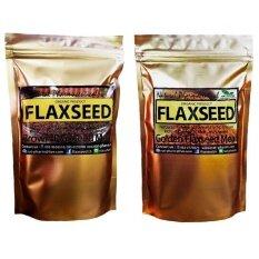 เมล็ดแฟลกซ์ อบ บดผง Organic Golden 200 G Brown Flaxseed Meal 200 G ใน กรุงเทพมหานคร