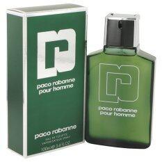 ราคา Paco Rabanne น้ำหอมสำหรับผู้ชาย Pour Homme Edt 100Ml พร้อมกล่อง ที่สุด