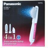 ซื้อ Panasonic แปรงจัดแต่งทรงผมไฟฟ้า ไดร์เป่าผม ที่ม้วนผม Hair Styler Ionity รุ่น Eh Ke46 ไทย
