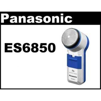 เครื่องโกนหนวด Panasonicรุ่น ES-6850 ราคาถูก พกพาง่าย จับถนัดมื่อ