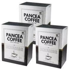 ราคา Pancea Coffee แพนเซีย คอฟฟี่ 15 In 1 กาแฟสุขภาพควบคุมน้ำหนัก จำนวน 3กล่อง เป็นต้นฉบับ