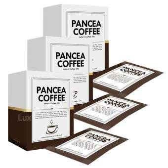 Pancea Coffee กาแฟลดน้ำหนัก แพนเซีย คอฟฟี่ ด้วยส่วนผสมพิเศษกว่า 15 ชนิด บรรจุ 10 ซอง ( 3 กล่อง)-