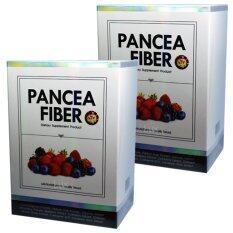 ราคา Pancea Fiber แพนเซีย ไฟเบอร์ ดีท็อกลำไส้ล้างสารพิษเพื่อให้ลำไส้เราทำงานได้ปกติ จำนวน 2 กล่อง ใหม่