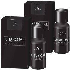 ราคา Parin Charcoal Serum ชาโคล เซรั่ม ดูแลทุกปัญหาผม ครบในขวดเดียว ปริมาณสุทธิ 15 มล 2 กล่อง Parin ออนไลน์