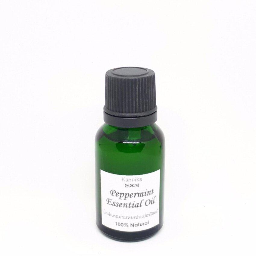 น้ำมันหอมระเหยเปปเปอร์มินต์ (Peppermint Essential Oil) 15 ml.