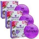 โปรโมชั่น Pervious Restoring Soap สบู่กู้หนังหน้า เพอร์เวียส ไร้สิว ผิวออร่า เปลี่ยนผิวใหม่ในก้อนเดียว 100 กรัม 3 ก้อน Pervious ใหม่ล่าสุด