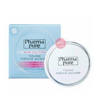 Pharma Pure Acne Solution Young Natural Powder แป้งบำรุงผิวป้องกันสิว