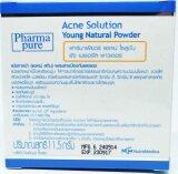 ขาย Pharma Pure Acne Solution Young Natural Powder แป้งทาหน้า แอคเน่ สกิน ผสมสารป้องกันแสงแดด ถูก ใน กรุงเทพมหานคร