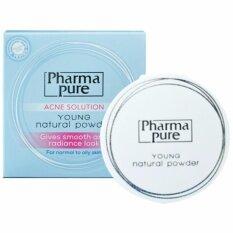 ทบทวน ที่สุด Pharmapure Acne Solution Young Natural Powder แป้งป้องกันสิว 11 5G