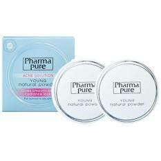 ขาย ซื้อ Pharmapure Acne Solution Young Natural Powder แป้งป้องกันสิว 11 5G 2กล่อง กรุงเทพมหานคร