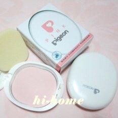 ซื้อ Pigeon Baby Compact Powder สี Pink แป้งเด็กอัดแข็งสีชมพู 1 ตลับ Pigeon ออนไลน์