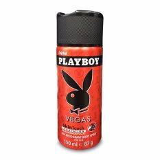 ราคา Playboy เพลย์บอย บอดี้สเปรย์ เวกัส 150 มล สีแดง ใน สมุทรปราการ