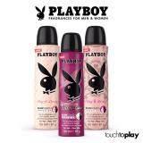 ขาย เซ็ตสุดคุ้ม Playboy Female Body Spray Set เพลย์บอย บอดี้ สเปรย์ หลากกลิ่น สำหรับผู้หญิง เพลย์ อิท เลิฟลี่ เพลย์ อิท เซ็กซี่ ควีน ออฟ เดอะ เกม ออนไลน์