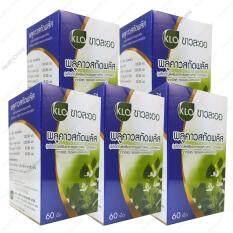ราคา ขาวละออ พลูคาว สกัด พลัส Plukaow Extract Plus Khaolaor 60 Cap X 5 Bottle ใหม่ล่าสุด