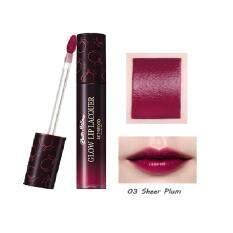 ราคา ราคาถูกที่สุด Plum Mellow Glow Lip Lacquer 4 5G ลิปแลคเกอร์ สีสวย ทน ชัด เนื้อบางเบา