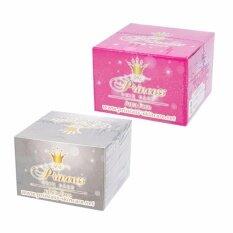 ราคา แพ็คเกจใหม่ Princess Skin Care ครีมหน้าเงา Aura Face 20 กรัม ครีมหน้าขาว White 20 กรัม ออนไลน์