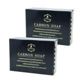 ขาย Princess Skin Care สบู่ดำดีท็อกซ์สิว คาร์บอน โซพ Carbon Soap 100 กรัม 2 ก้อน Princess Skin Care เป็นต้นฉบับ
