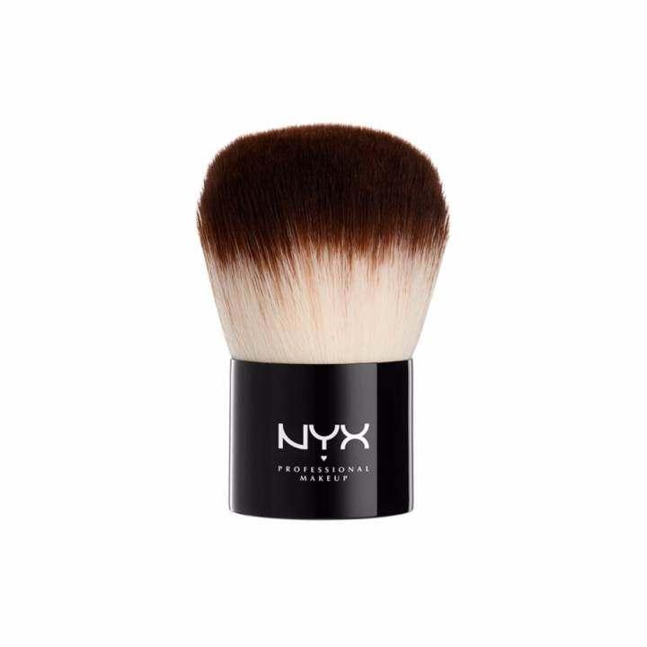 นิกซ์ โปรเฟสชั่นแนล เมคอัพ โปร คาบูกิ บรัช -  PROB01   แปรงแต่งหน้า   NYX Professional Makeup Pro Kabuki Brush -  PROB01   Foundation Brush