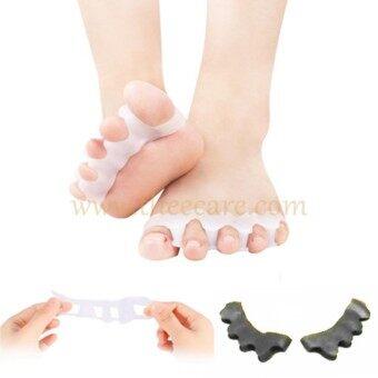ซิลิโคนช่วยแยกนิ้วเท้า ลดการเสียดสี ลดอาการเส้นเลือดขอดและตะคริวที่นิ้วเท้า ขณะออกกำลัง ขณะเล่นโยคะ