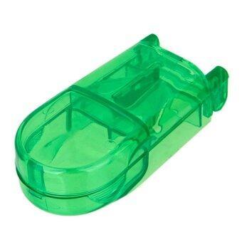 ที่ตัดยา ที่แบ่งยา สีเขียว