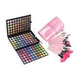 ซื้อ Professional 180 Color Eyeshadow Makeup Palette Coastal Scent 24 Piece Set Complete Makeup Brush Pink Intl