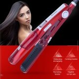 ราคา Professional Steam Hair Straightener Comb Brush Flat Iron Ceramic Hair Iron Electric Hair Straightening Brush Styling Tool Red Intl ออนไลน์ จีน