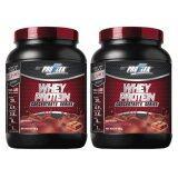 ขาย Proflex Whey Protein Concentrate Chocolate Flavor โปรเฟล็กซ์ เวย์โปรตีน กลิ่นช็อคโกแลต 700 G X 2 Bottle ถูก