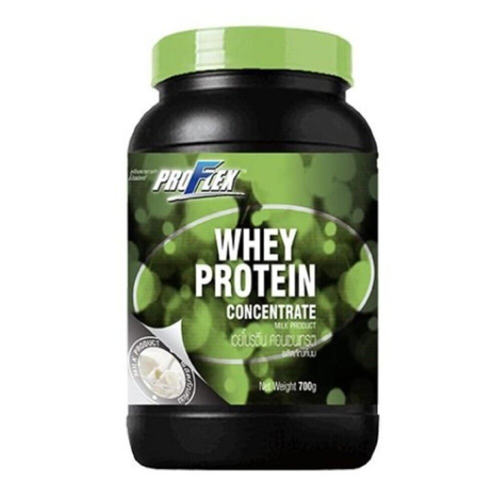 ProFlex Whey Protein Concentrate Pure 700 g.  อาหารเสริมเพิ่มน้ำหนักและกล้ามเนื้อ อาหารเสริมการออกกำลังกาย วิตามินและอาหารเสริม