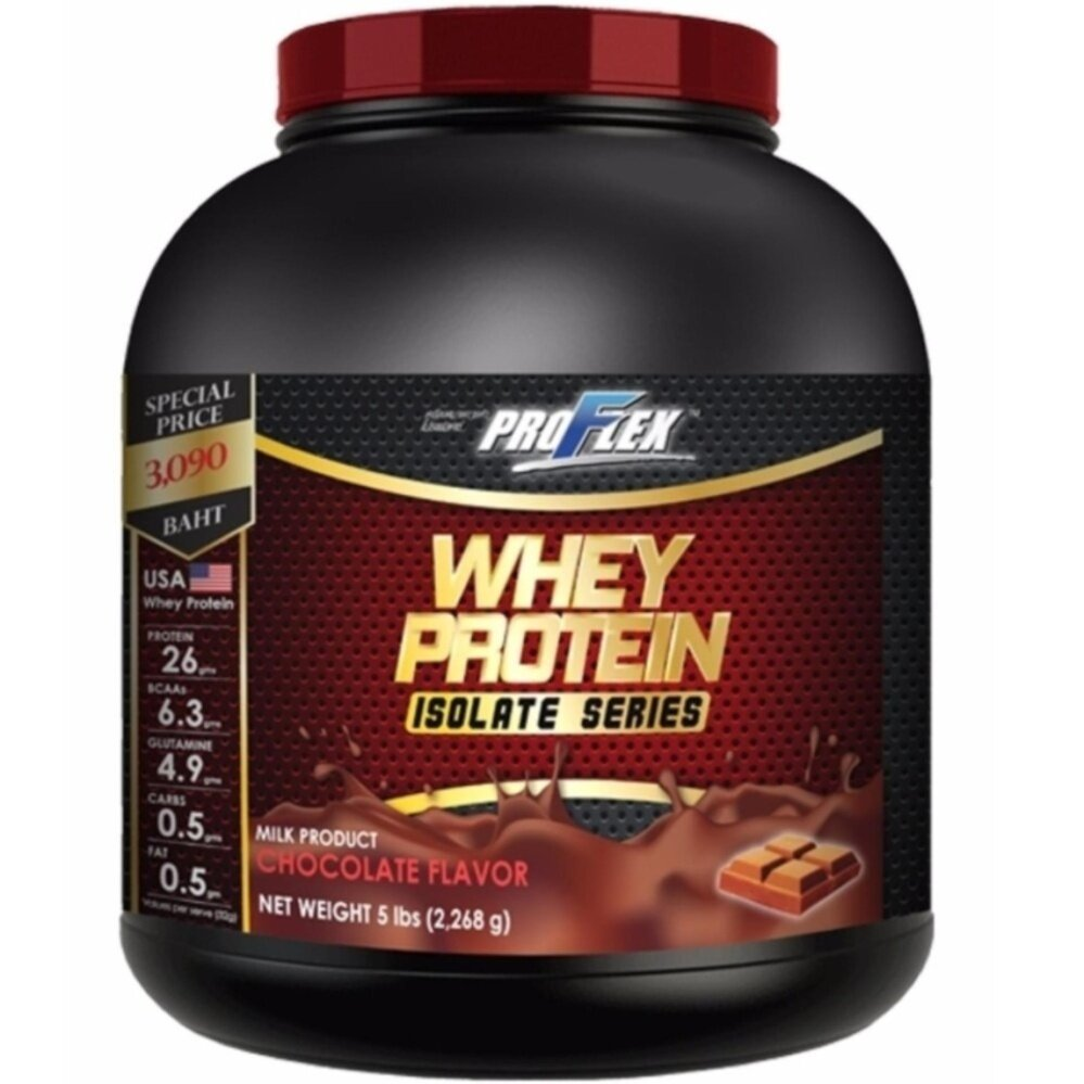 ProFlex Whey Protein Isolate Chocolate (5 lbs.)