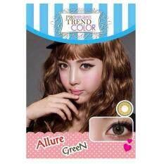 ซื้อ Protrend Color คอนแทคเลนส์ รุ่น Allure Green ค่าสายตา 00 Protrend Color ถูก