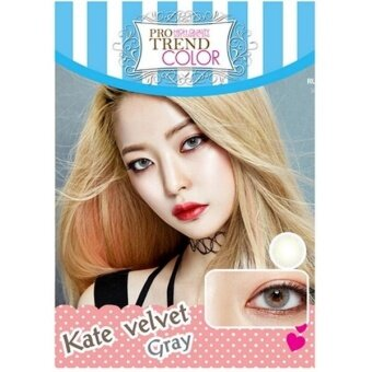 Protrend Color คอนแทคเลนส์ รุ่น Kate Velvet Gray ค่าสายตา -2.75