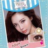 ขาย Protrend Color คอนแทคเลนส์ รุ่น Allure Brown ค่าสายตา 00 ใหม่