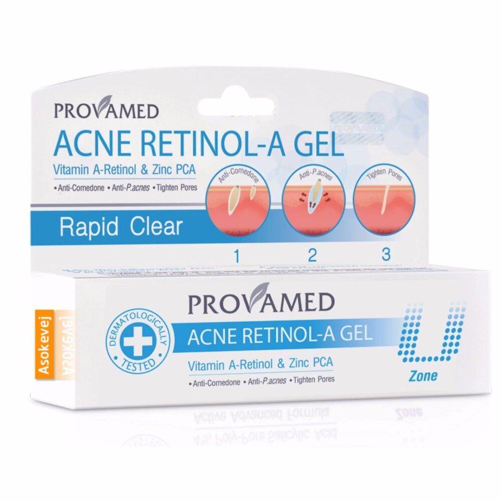 ขอถามคนที่ใช้ Provamed Acne Retinol-A Gel เจลแต้มสิว 10 g. (1ชิ้น) จากธรรมชาติ 100%