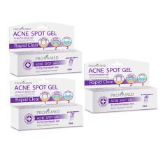 ราคา Provamed Rapid Clear Acne Spot Gel 10 G แพ็ค 3 ชิ้น Provamed