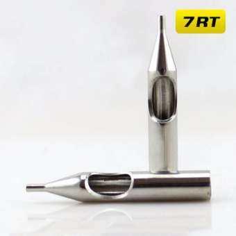 ปลายสแตนเลสเบอร์7RT ปลายกระบอกเข็มสัก อุปกรณ์สักลาย 7RT 304 Stainless Steel Tattoo Needle Mouth (1 PC)