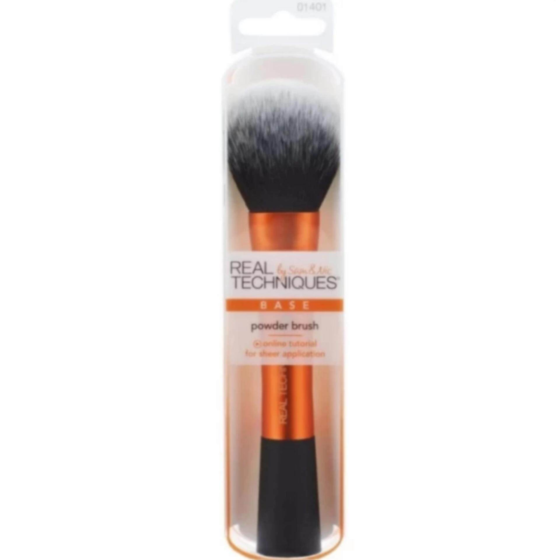 Real Techniques Powder Brush (สีส้ม)