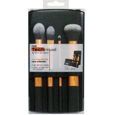 ราคา Real Techniques สีส้ม 4 ชิ้น Core Collection กระเป๋าดำ 1ชิ้น ราคาถูกที่สุด