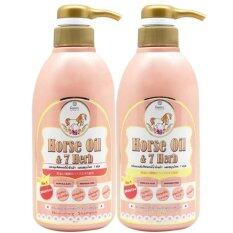 ความคิดเห็น Remi Horse Oil 7 Herb Shampoo Treatment เซ็ทแชมพู และ ทรีทเมนต์น้ำมันม้าฮอกไกโด 400 Ml X 1 ชุด