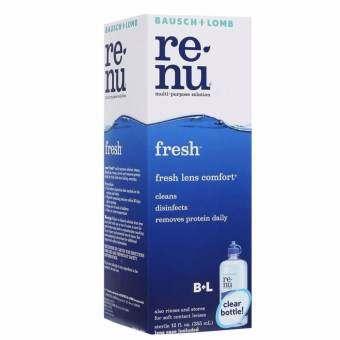 Renu Fresh Multi Purpose Solution 355 mlแถมฟรี ขวดเล็ก60 ml 1ขวด-