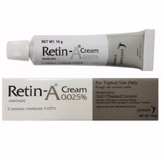 ทบทวน ที่สุด 1 หลอด Retin Acne Cream บำรุงผิวหน้า ลดสิวอุดตัน ชะลอริ้วรอย