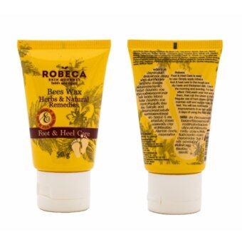 Robeca FootHeel Care ครีมบำรุงผิวส้นเท้า สำหรับส้นเท้าแตก [50ml.]