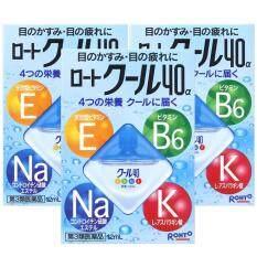 ซื้อ Rohto Vita40 น้ำตาเทียมบำรุงสายตา ความเย็นระดับ5 12Ml จากประเทศญี่ปุ่น 3 กล่อง ใน กรุงเทพมหานคร